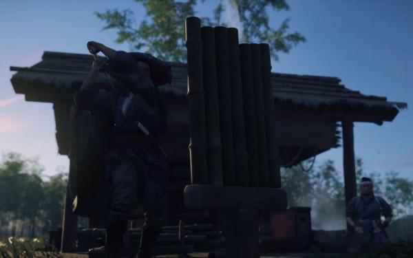 Ghost Of Tsushima: Nhiệm vụ chém trúc (bamboo strike)
